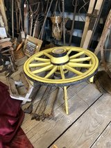 Wagon Wheel Table in Lake Charles, Louisiana