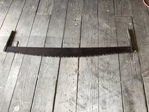 Antique Crosscut Saw in Lake Charles, Louisiana
