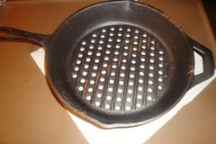"""10.25"""" Cast Iron Grill Skillet in Lawton, Oklahoma"""