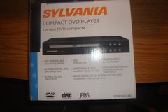 SYLVANIA compact DVD Player in Lawton, Oklahoma