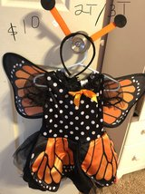 Butterfly halloweeen costume - girls in Fort Bliss, Texas