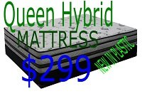"QUEEN 13"" FOAM ENCASED HYBRID MATT in Camp Lejeune, North Carolina"