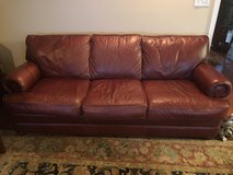 Leather couch and chair in Moody AFB, Georgia