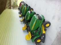 Riding mowers reduced for end of season sale in Camp Lejeune, North Carolina