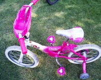 303 Little Girls Pink Cinderella Princess Bicycle in Alamogordo, New Mexico