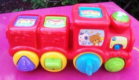 305 Toddler Electronic Pull Train with Pop Up Balls in Alamogordo, New Mexico