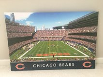 Chicago Bears wrapped canvas print in St. Charles, Illinois