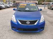 2013 NISSAB VERSA SV SEDAN 4CLY AUTO ' ONE OWNER ' ..EXCELLET CONDITION ..$5695 in 29 Palms, California