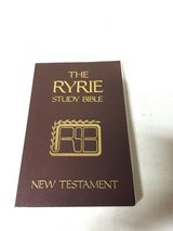 The Ryrie Study Bible - New Testament in Lockport, Illinois