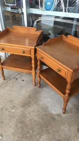 Set of Maple End Tables in Fort Leonard Wood, Missouri