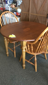 Oak Table and two oak chairs in Fort Leonard Wood, Missouri