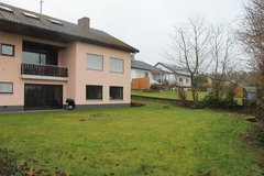 150 sqm Apartment, fireplace/chimney, big garden, 5 min. from base in Spangdahlem, Germany