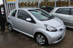**TOYOTA AYGO 1.0 VTI**FREE ROAD TAX! 6 MONTHS WARRANTY! in Lakenheath, UK