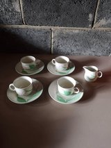 tea set, also has a sugar bowl not pictured in Lakenheath, UK