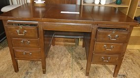 Oak Antique Office Desk in Kansas City, Missouri