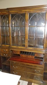 Antique Cathedral China Cabinet in Kansas City, Missouri
