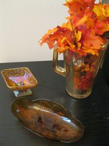 Amber Glass 3 pieces in Lawton, Oklahoma