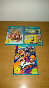 3 Nintendo Wii U Games(European) in Ramstein, Germany