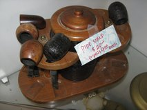 5 TOBACCO PIPES AND STAND !!!!! in Yucca Valley, California
