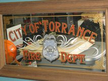 COLLECTIBLE  CITY OF TORRANCE FIRE DEPT. MIRROR in 29 Palms, California