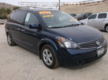 2008 NISSAN QUEST VAN , LOADED, ONLY 124K MILES .....$4895 in Yucca Valley, California
