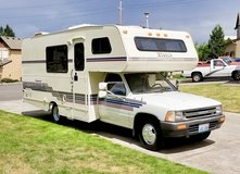 1991 Toyota Motorhome by Itasca in Camp Pendleton, California
