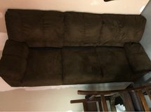 Brown Couch - $100 in Camp Lejeune, North Carolina