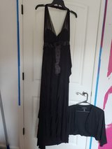 Elegant Women Party Black Long Dress 14 in Fort Campbell, Kentucky