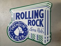 Rolling Rock Sign in 29 Palms, California