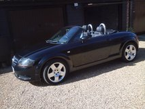 55 PLATED AUDI TT ROADSTER LOW MILES WITH HISTORY in Lakenheath, UK