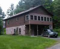 2-3 Bedroom Log Home, Secluded, Private Road in Fort Drum, New York
