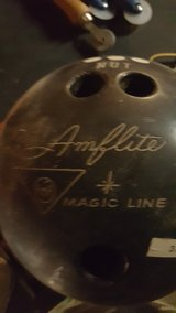 bowling balls, welcome moose sign,pvc pipe, potato forks, baseball bat in Fort Leonard Wood, Missouri