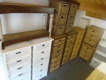 Ex display wicker chest of drawers, 3-6 drawers in Lakenheath, UK