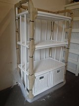 Wicker bathroom/shelves and drawers, ex display/new, two colours! in Lakenheath, UK