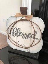 Blessed Wooden Sign in Aurora, Illinois