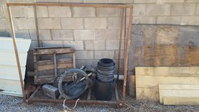 Firewood Rack in Alamogordo, New Mexico
