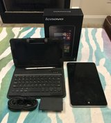 Like New Lenovo Tablet w/ Accessories in Camp Lejeune, North Carolina