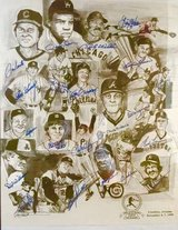 Baseball Legends Autographed Poster in Cleveland, Texas