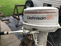 1979 25hp Johnson Outboard running Powerhead in Fort Lee, Virginia