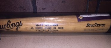 Autographed MLB Bat in Cleveland, Texas