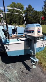 14' Boat w 6hp Evinrude, Trailer, etc in Fort Lee, Virginia