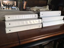 6 White 3 Ring Binders in Chicago, Illinois