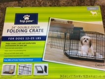 "New 24"" Double Door Dog Crate in Chicago, Illinois"