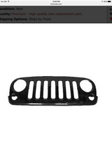 Jeep Wrangler Grill in Kingwood, Texas