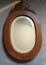Antique Oval Wall Mirror in Westmont, Illinois