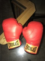 Kid's play boxing gloves in Nellis AFB, Nevada