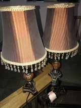 2 small lamps in Nellis AFB, Nevada