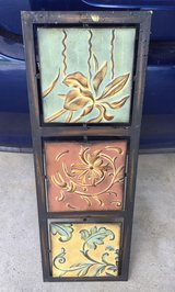 Metal, 3 piece wall painting of plants in St. Charles, Illinois