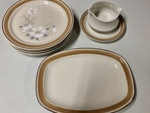 Set of 5 Water Colors Dawn Hearthside Plates in Bolingbrook, Illinois