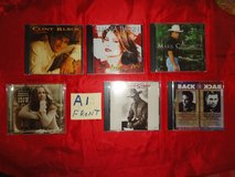 30 country music CD's in excellent condition in The Woodlands, Texas
